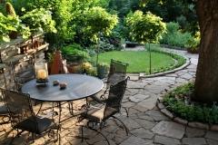 Gehobene Gartenanlagen nach Mass