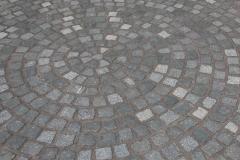 Granitpflaster mit Expoxydharzverfugung